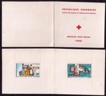 Gabon - 1968 - Carnet Yvert 10 Croix Rouge - Croix-Rouge