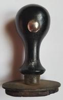 TAMPON ENCREUR - LAOS - COMMERCE - VIENTIANE - 7 CM - ANNEE 70 - Seals