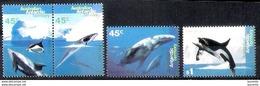 18619  Baleines - Whales - Australie Antartique Yv 102-06 MNH - 2,75 - Baleines