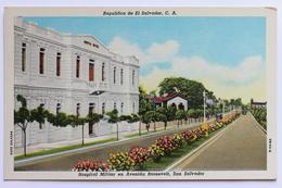Hospital Militar En Avenida Roosevelt, San Salvador, Republica De El Salvador - Salvador