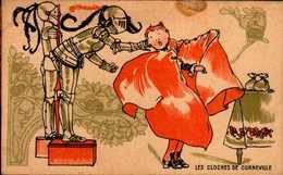 CHROMO FARINE LACTEE SALVY...LES CLOCHES DE CORNEVILLE - Trade Cards