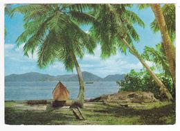 Praslin From La Digue Seychelles En 1978 VOIR Beau Timbre Oiseaux Sterne Blanche - Seychellen