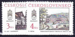 ** Tchécoslovaquie 1988 Mi 2977-8 (Yv 2781-2), (MNH) - Tchécoslovaquie
