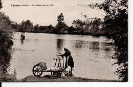 Chabris - Le Lavoir Sur Le Cher ( Lavandière ) - Andere Gemeenten