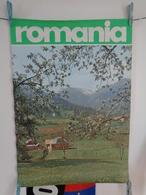 AFFICHE: ROMANIA ,  H67,5 L47,2 - Affiches