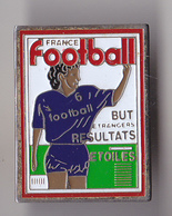 PIN'S   THEME PRESSE  FRANCE  FOOTBALL - Medias