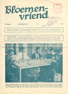 Tijdschrift - Bloemenvriend - Tuin - Landbouw - 1966 - Uitg. Publivog Belsele Waas - Revues & Journaux