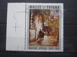 VEND BEAU TIMBRE DE POSTE AERIENNE DE WALLIS ET FUTUNA N° 144 + BDF , XX !!! - Poste Aérienne