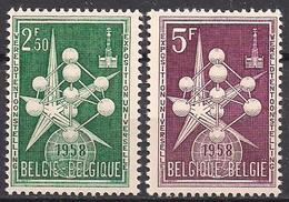 Belgien  (1958)  Mi.Nr.  1091 - 1092  ** / Mnh  (2fa28) - Belgien