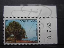 VEND BEAU TIMBRE DE POSTE AERIENNE DE WALLIS ET FUTUNA N° 130 + BDF COIN DATE , XX !!! - Airmail