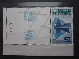 VEND BEAU TIMBRE DE POSTE AERIENNE DE WALLIS ET FUTUNA N° 146 + BDF COIN DATE , XX !!! - Airmail