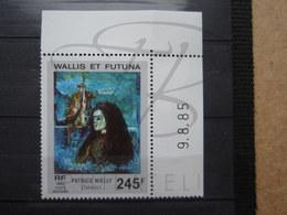 VEND BEAU TIMBRE DE POSTE AERIENNE DE WALLIS ET FUTUNA N° 147 + BDF COIN DATE , XX !!! - Airmail