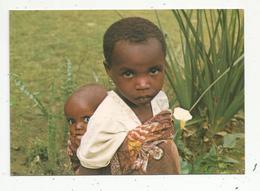 Cp , AFRIQUE ,  Enfant , Bébé , POSTAL MISIONERA ,n° 200 , VIERGE - Non Classés