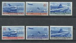 TURQUIA  YVERT  AEREO 28/33   MH  * - 1921-... República