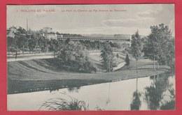 Woluwe St. Pierre - Le Pont Du Chemin De Fer, Avenue De Tervueren - 1909 ( Voir Verso ) - Woluwe-St-Pierre - St-Pieters-Woluwe