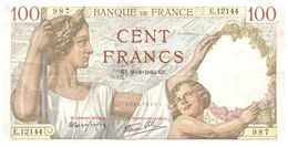 Billet > France >1936  > Valeur 100 - 1871-1952 Anciens Francs Circulés Au XXème