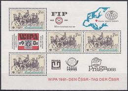 ** Tchécoslovaquie 1981 Mi 2602 - Bl.44 (Yv BF 50), (MNH) - Czechoslovakia