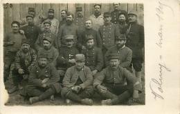 VALMY  CARTE PHOTO GROUPE DE SOLDATS EN 1915 - Frankrijk