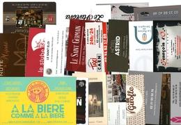 20 Cartes De Visite (lot 3) - Cartoncini Da Visita