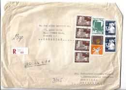 Reg. Censored Cover Rzeszow (PL)-Nowa Sarzyna 1971 - Airmail