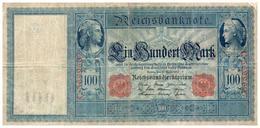 Billets > Allemagne >   100 Mark 1910 Rouge - 100 Mark