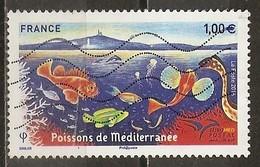 France 2016 Poissons De Mer Fish Obl (has Fold) - Frankrijk