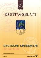 West-Duitsland - Ersttagsblatt - 14/1999 - 25 Jahre Deutsche Krebshilfe - Michel 2044 - [7] West-Duitsland