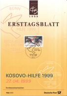 West-Duitsland - Ersttagsblatt - 15/1999 - Kosovo-Hilfe - Michel 2045 - [7] West-Duitsland