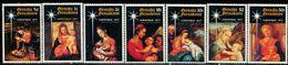 AW2151 Grenada 1977 Christmas Painting Virgin Mary 7V MNH - Art