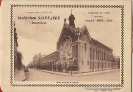 Ecole Institution Saint Jude à Armentières Nord Année 1929 - 1930 - Books, Magazines, Comics