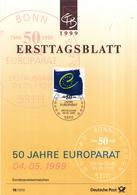 West-Duitsland - Ersttagsblatt - 18/1999 - 50 Jahre Europarat - Michel 2049 - [7] West-Duitsland