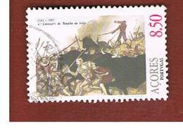 AZZORRE (AZORES)  - SG 427 -  1981 SALGA BATTLE     -    USED - Azores