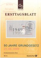 West-Duitsland - Ersttagsblatt - 19/1999 - 50 Jahre Grundgesetz - Michel Bl48 - [7] West-Duitsland