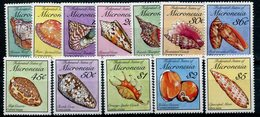 1990- MICRONESIA - SHELLS- CPL.SET -   12 VAL.- M.N.H. - LUXE !! - Micronesia