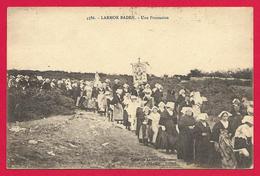 CPA Larmor Baden - Une Procession - Larmor-Plage