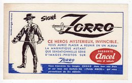 Juin18   81895    Buvard    Dessert Ancel   Signé Zoro - Food