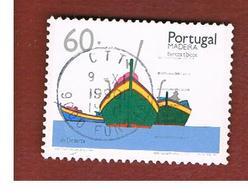 MADEIRA  - SG 271 -  1990 BOATS   -    USED - Madeira