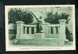 CPA: 71 - BOURBON-LANCY - MONUMENT AUX MORTS DE LA GRANDE GUERRE 1914-1918 - France