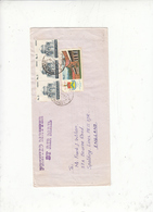 PAKISTAN  1985 - Yvert 506-642 - Lettera Per England - Pakistan