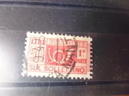 ITALIE TIMBRE COLIS POSTAUX   YVERT N°62 - 1946-.. République
