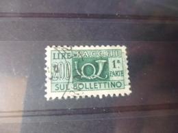 ITALIE TIMBRE COLIS POSTAUX   YVERT N°64 - 1946-.. République