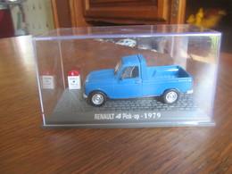 CD18 Altaya, Renault 4 Pick-up, 1979, Neuve En Boite, 1-43 - Cars & 4-wheels