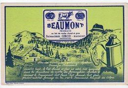 Juin18   81878     Buvard    Fromagerie Girod    Beaumont  Haute Savoie - Food