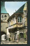 CPSM: 71 - BOURBON-LANCY - LA MAISON DE BOIS - France