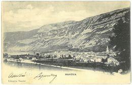 CPA NANTUA - Librairie Vandel - Nantua