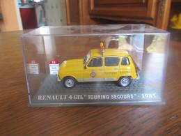 CD19 Altaya, Renault 4 GTL, Touring Secours, 1985, Neuve En Boite, 1-43 - Cars & 4-wheels