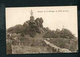 CPA: 71 - SUIN - SOMMET DE LA MONTAGNE DE SUIN - - France