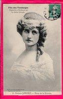 Cpa Carte Postale Ancienne  - BORDEAUX - Fête Des Vendanges Organisée Par La Petite Gironde - Madame DARLAUT - Reine De - Bordeaux