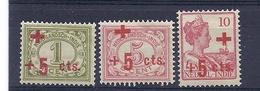 180029618  INDIA  HOLANDA  YVERT  Nº  118/120  */MH - Niederländisch-Indien