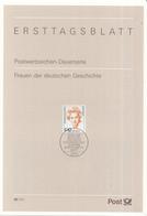 West-Duitsland - Ersttagsblatt - 38/1997 - Frauen Der Deutsche Geschichte: Elisabeth Schwarzhaupt - Michel 1955 - [7] West-Duitsland